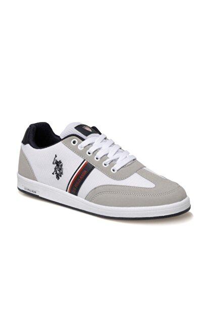 US Polo Assn KARES 1FX Beyaz Erkek Sneaker Ayakkabı 100910452