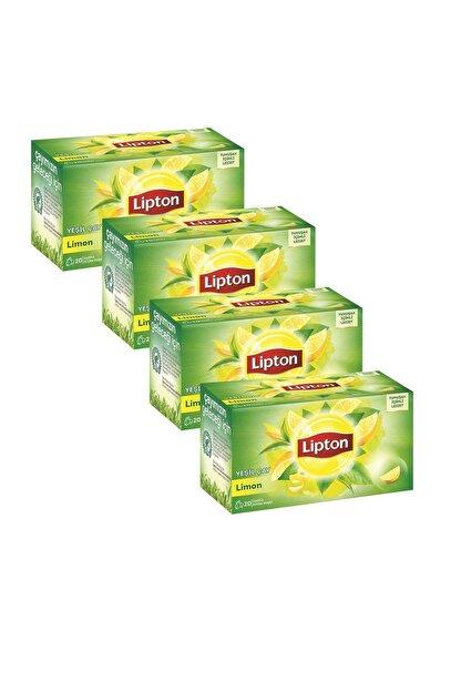 Lipton Berrak Yesil Cay Limonlu 20'li Bardak Poset X 4 Adet