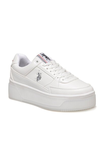 US Polo Assn MADONNA 1FX Beyaz Kadın Fashion Sneaker 100910524