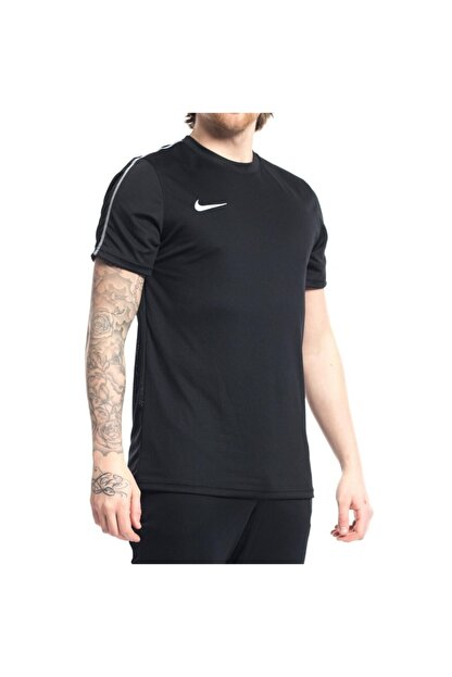 Nike Erkek  Kısakol Tişört Dry Park Jsy Siyah