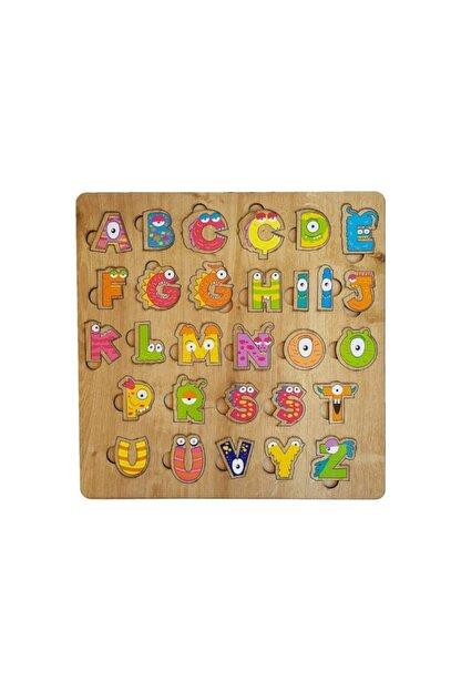 Kr Oyuncak Türkçe Eğitici Alfabe , Yapboz Ve Güzel Yazı Tahtası Rengarenk Şekilli Yapboz'lu Harfler