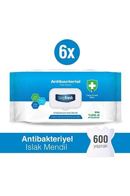 Deep Fresh Antibakteriyel Islak Mendil 6'lı Paket 600 Yaprak