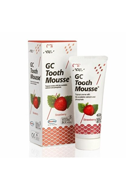Gc Tooth Mousse Çilekli Diş Bakım Kremi