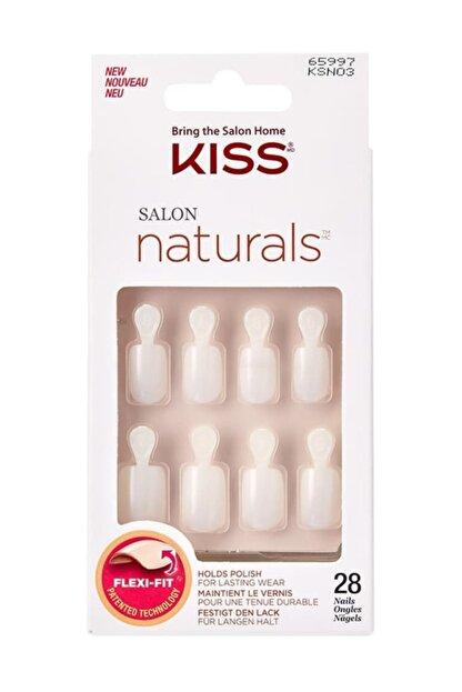 Kiss Renksiz Takma Tırnak Seti Tırnak Yapıştırıcılı - Ksn03c - 731509659979