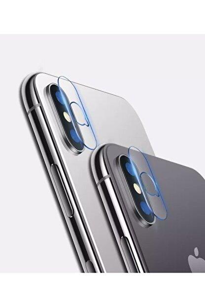 ucuzmi Iphone Xsmax  Uyumlu Arka Kamera Lens Koruma Nano Temperli Camı Kamera Koruma Koruyucu 9h Cam