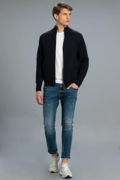Lufian Icon Smart Jean Pantolon Slim Fit Açık Indigo