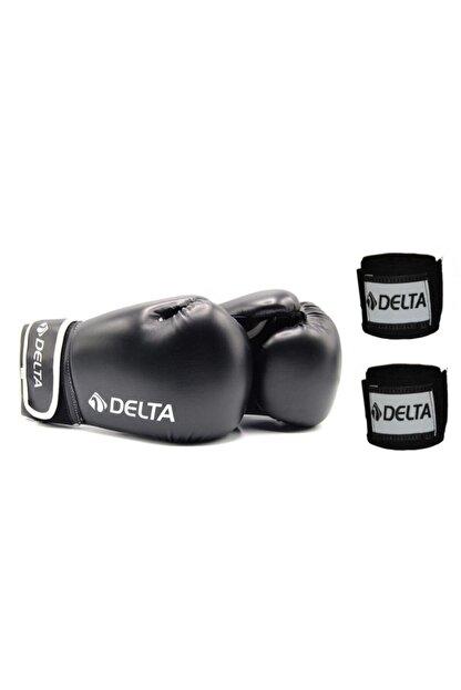 Delta Maxima Deluxe Pu Boks Eldiveni + Boks El Bandajı Seti