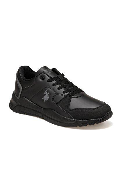 US Polo Assn CALABRIA Siyah Erkek Sneaker Ayakkabı 100548883