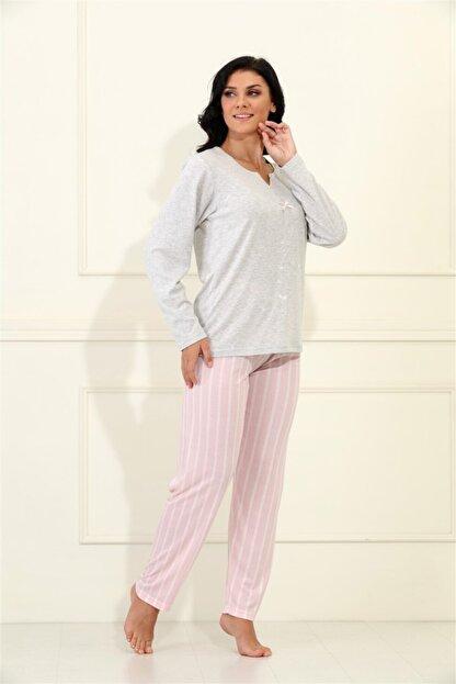 Etoile %100 Cotton Uzun Kol Pijama Takımı 98068