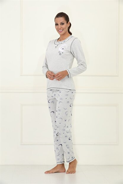 Etoile % 100 Pamuklu Pijama Takımı S - 5xl Beden Arası / 98074