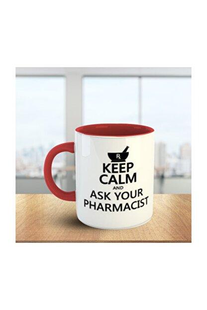 MOSELLE Pharmacist (Eczacı) No:4 Kırmızı Beyaz Meslek Kupa