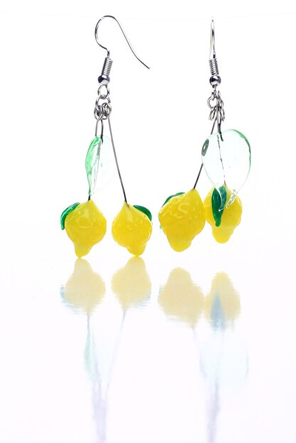 NK Artglass Limon Küpe