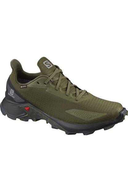 Salomon Alphacross Blast Gtx Erkek Yeşil Outdoor Ayakkabı L41105800
