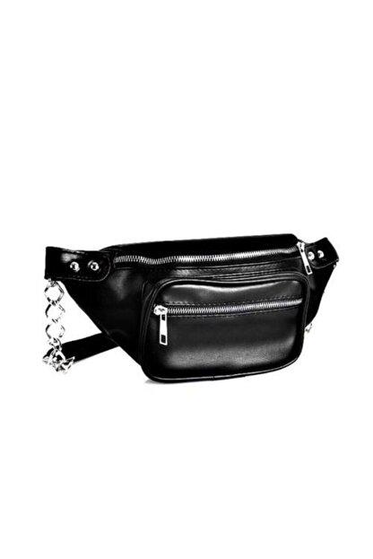 bag&more Sıyah Kadın Bel Çantası