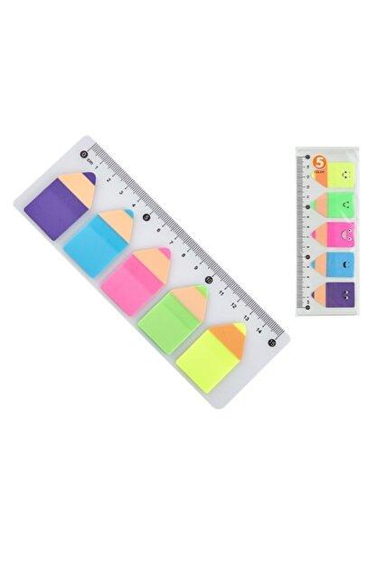 3A Yapışkanlı Renkli Post-it Cetvelli