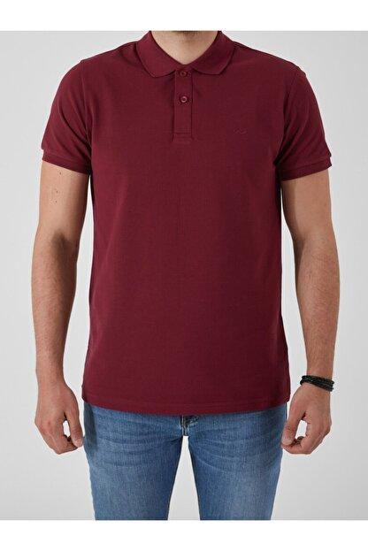 Ltb Erkek  Bordo Polo Yaka T-Shirt 012208450860890000