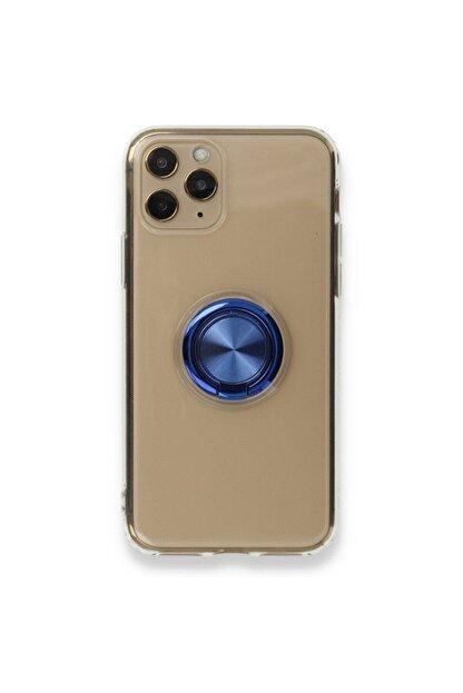 MMC Apple Iphone 11 Pro Manyetik Yüzüklü Silikon Kılıf