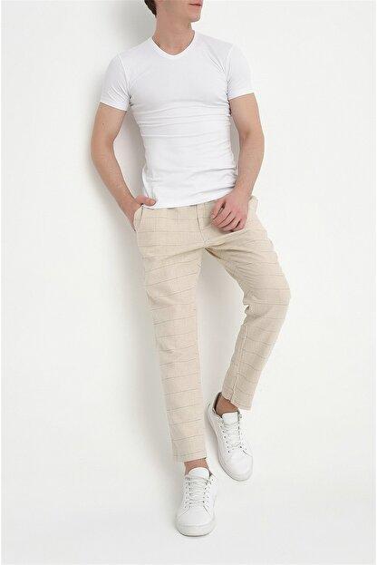 Efor Atp 09 Slim Fit Bej Spor Pantolon