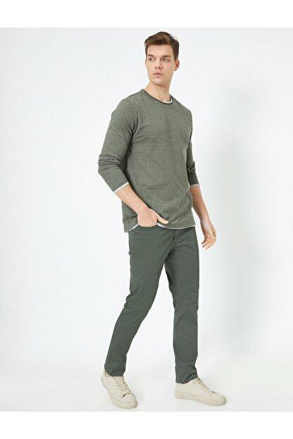 Koton Cep Detayli Slim Fit Pantolon