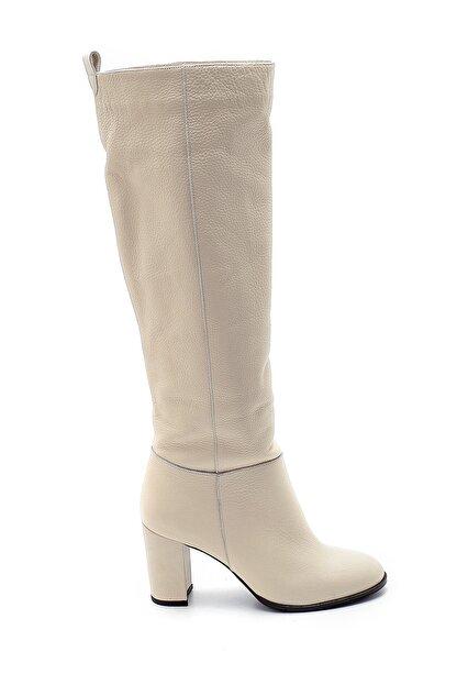 Derimod Kadın Deri Topuklu Çizme