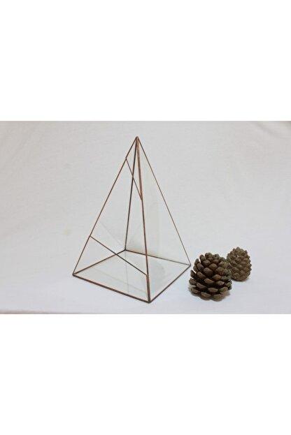 KRAFTZON Vitrail Geometrik Cam Fanus Giza Large