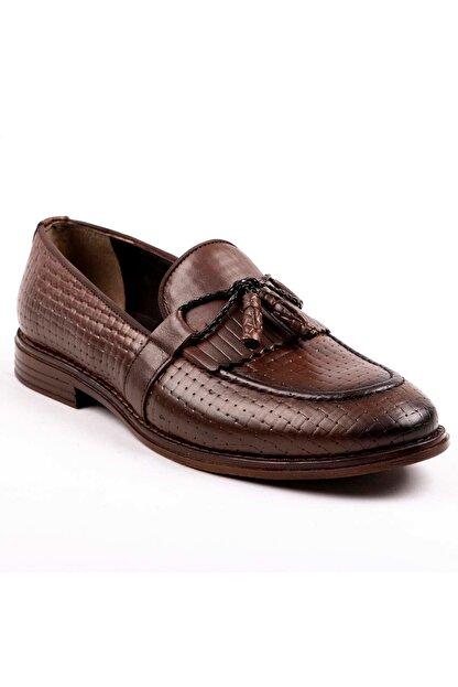 MPP Hakiki Deri Loafer Erkek Ayakkabı Trs502 Kahverengi