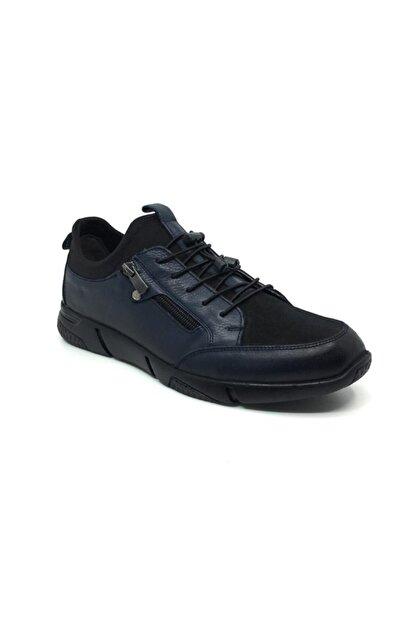 Taşpınar Salih %100 Deri Erkek Rahat Günlük Streçli Bağsız Mevsimlik Ayakkabı