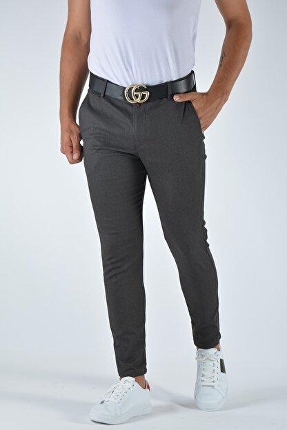 Terapi Men Erkek Slim Fit Keten Pantolon 20y-2200337 Antrasit
