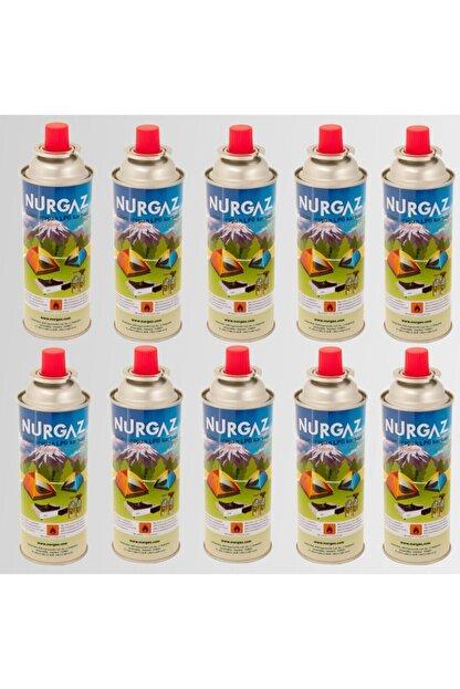 Nurgaz 10 Adet Ng-207 220 gram Tüp Kartuş Gaz