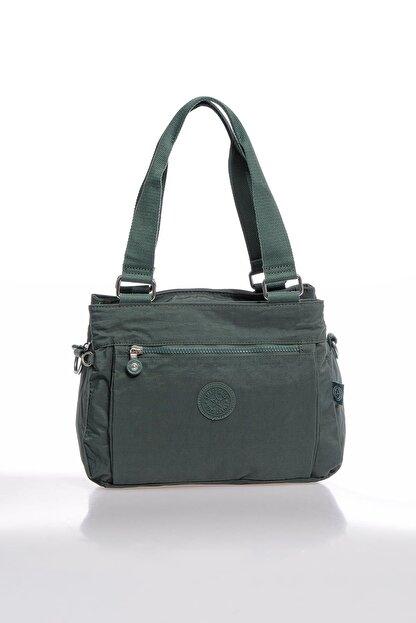 Smart Bags Smbky1125-0005 Haki Kadın Omuz Çantası
