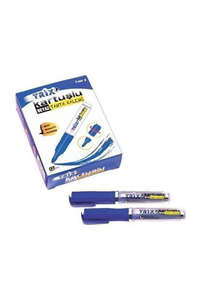 TRİX Kartuşlu Beyaz Tahta Kalemi Mavi - 12 Adet