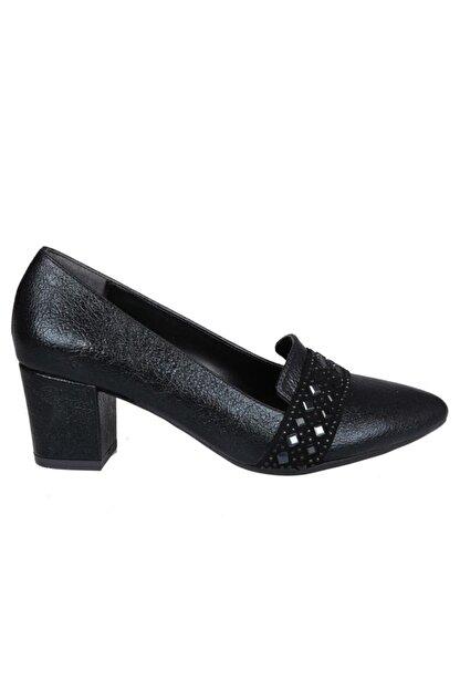 PUNTO 533060 Siyah Kadın Stiletto