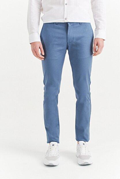 Avva Erkek Açık Mavi Yandan Cepli Basic Slim Fit Pantolon A01y3042