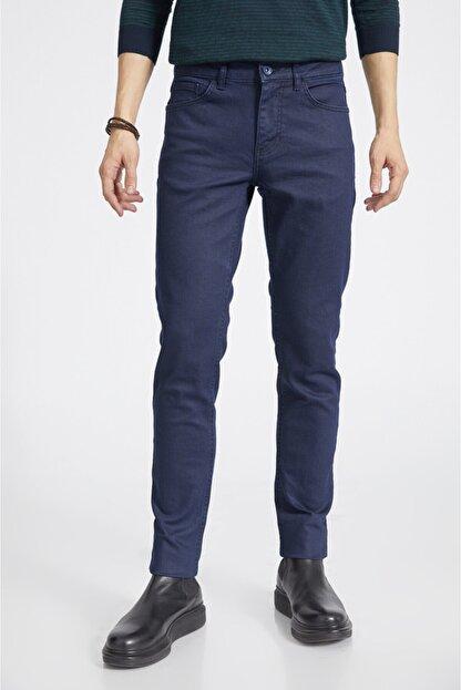 Avva Erkek Lacivert Slim Fit Jean Pantolon E003503