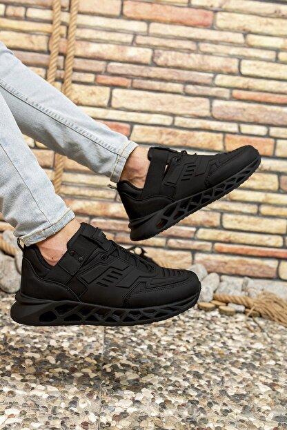 Riccon Siyah Siyah Erkek Sneaker 00122021
