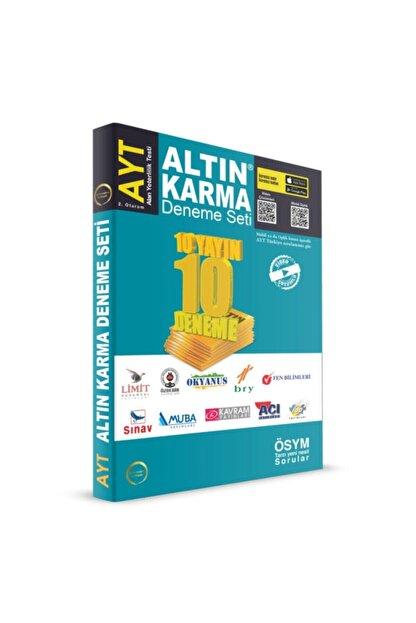 Altın Karma Yayınları 2020 Ayt 10 Farklı Yayın 10 Deneme