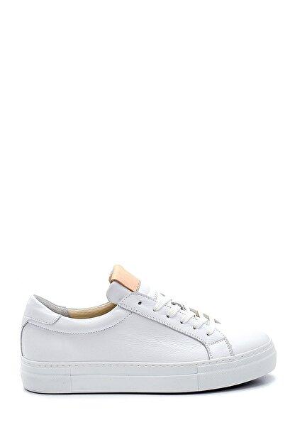 Derimod Kadın Beyaz Deri Sneaker
