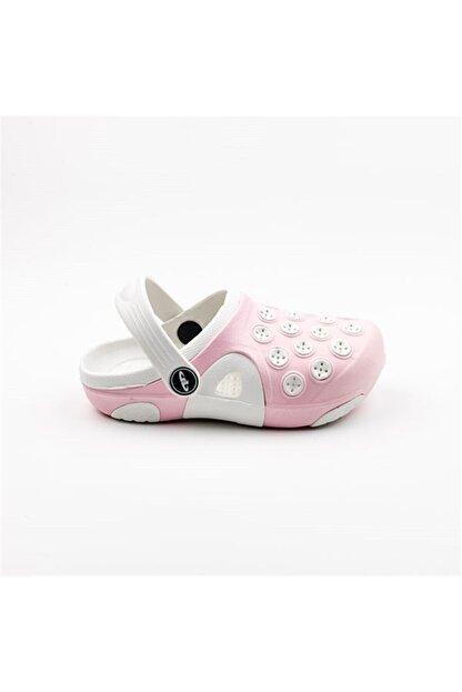 Akınalbella Akınalbella Kız Çocuk Pembe Sandalet