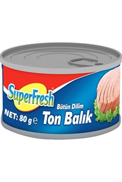 SuperFresh Süperfresh Ton Balığı Ayçiçek 80 Gr*24