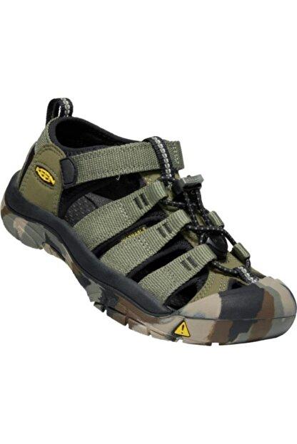 Keen Newport H2 Genç Sandalet Yeşil