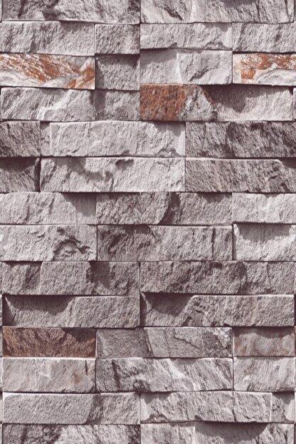 EXCLUSIVE 9350 Taş Popüler Desen Duvar Kağıdı (5 M²)