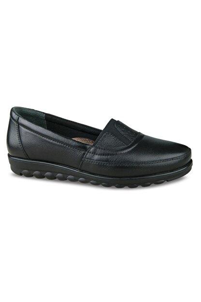 Ceyo Kadın Kışlık Deri Ayakkabı 20126