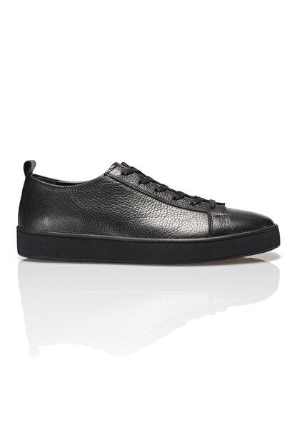 Alba Siyah Hakiki Deri Erkek Sneaker