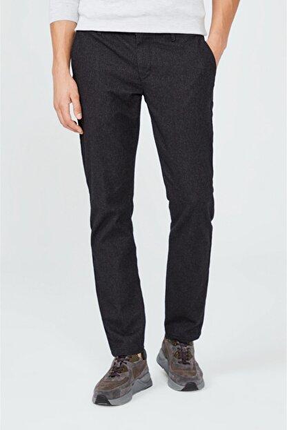 Avva Erkek Antrasit Yandan Cepli Flanel Slim Fit Pantolon A02y3057
