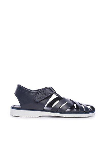 Kemal Tanca Erkek Derı Sandalet Sandalet 676 E4504 Erk Sndlt