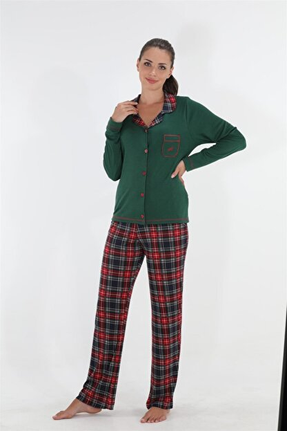 Etoile Étoile Uzun Kol Pijama Takımı %100 Pamuk / 98118