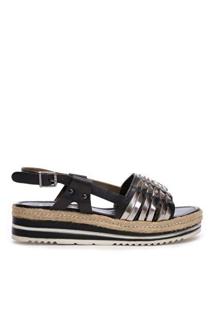 Kemal Tanca Kadın Derı Sandalet Sandalet 649 303 Bn Snd