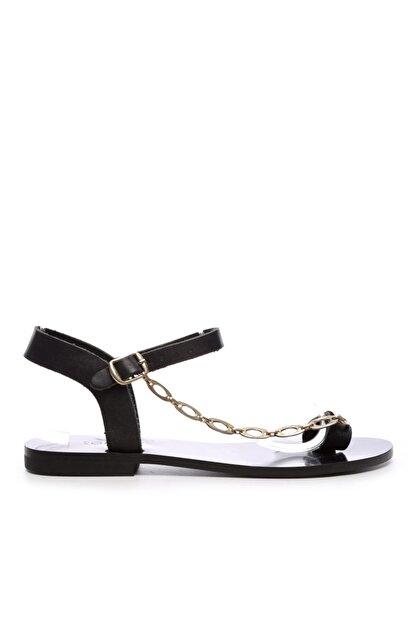 Kemal Tanca Kadın Derı Sandalet Sandalet 607 Rl112 Byn Snd