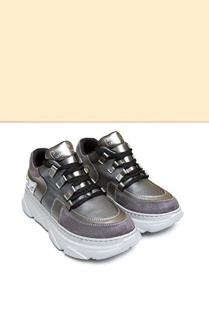 Pierre Cardin PC-30322 Platin Kadın Spor Ayakkabı