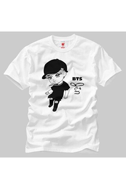 Crazy Bts Jin Cartoon Erkek Tişört